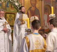 Детская литургия в Троицком храме